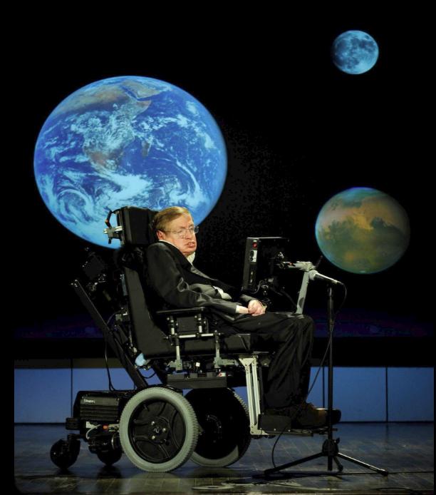 Nhìn lại cuộc đời của huyền thoại Stephen Hawking: Ngôi sao sáng trên bầu trời khoa học thế giới đã vụt tắt - Ảnh 1.