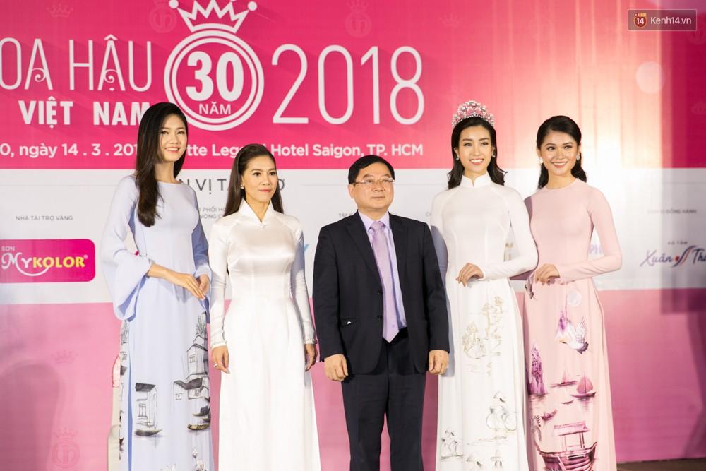 Khoảnh khắc hiếm hoi: 6 Hoa hậu, Á hậu hai mùa Hoa hậu liên tiếp diện áo dài đọ sắc - Ảnh 10.