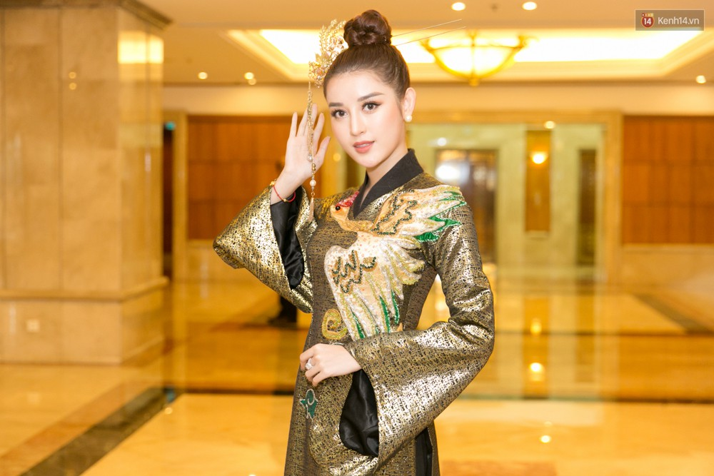 Khoảnh khắc hiếm hoi: 6 Hoa hậu, Á hậu hai mùa Hoa hậu liên tiếp diện áo dài đọ sắc - Ảnh 5.
