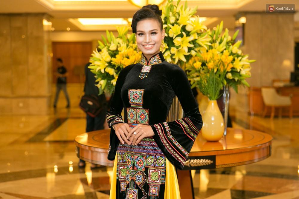 Khoảnh khắc hiếm hoi: 6 Hoa hậu, Á hậu hai mùa Hoa hậu liên tiếp diện áo dài đọ sắc - Ảnh 8.