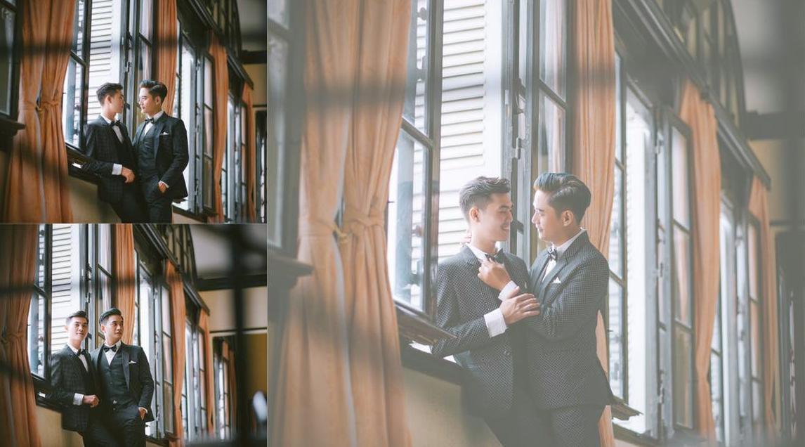 Đám cưới của cặp đồng tính điển trai gây xôn xao mạng xã hội: Chưa bao giờ vì sự phản đối của mọi người mà nản lòng - Ảnh 5.