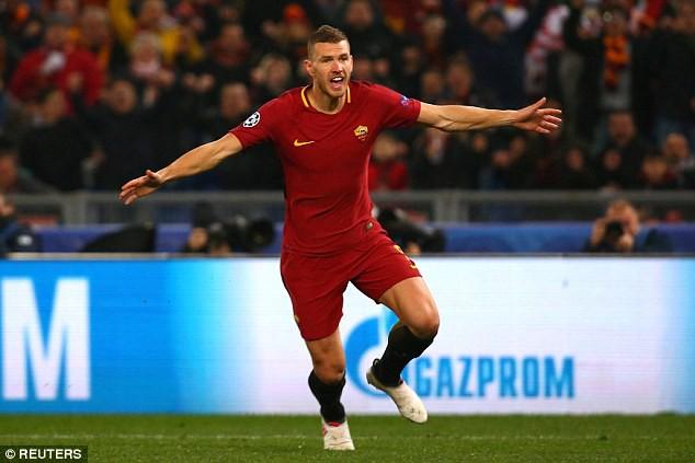 Cựu sao Man City tỏa sáng đưa Roma vào tứ kết Champions League - Ảnh 7.
