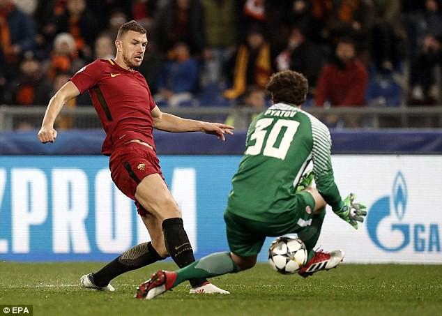Cựu sao Man City tỏa sáng đưa Roma vào tứ kết Champions League - Ảnh 5.