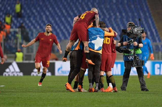 Cựu sao Man City tỏa sáng đưa Roma vào tứ kết Champions League - Ảnh 12.