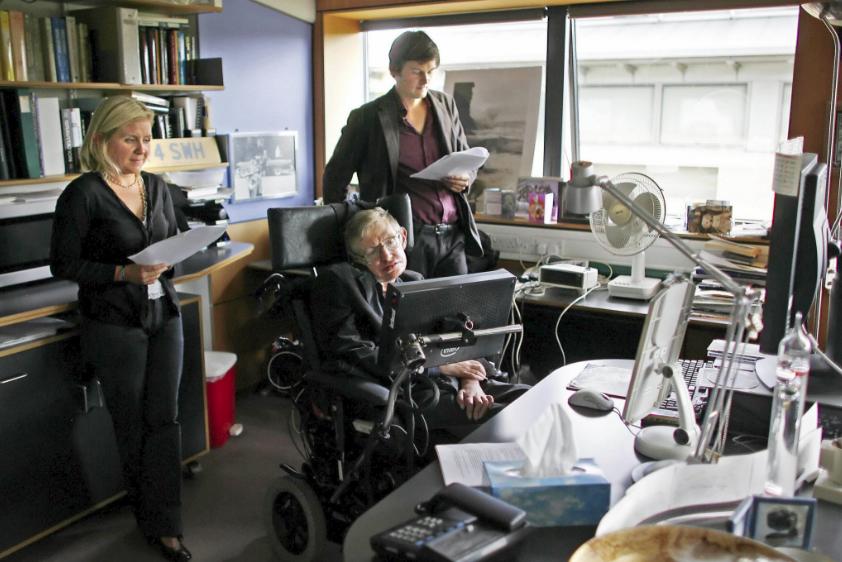 Nhìn lại cuộc đời của huyền thoại Stephen Hawking: Ngôi sao sáng trên bầu trời khoa học thế giới đã vụt tắt - Ảnh 13.