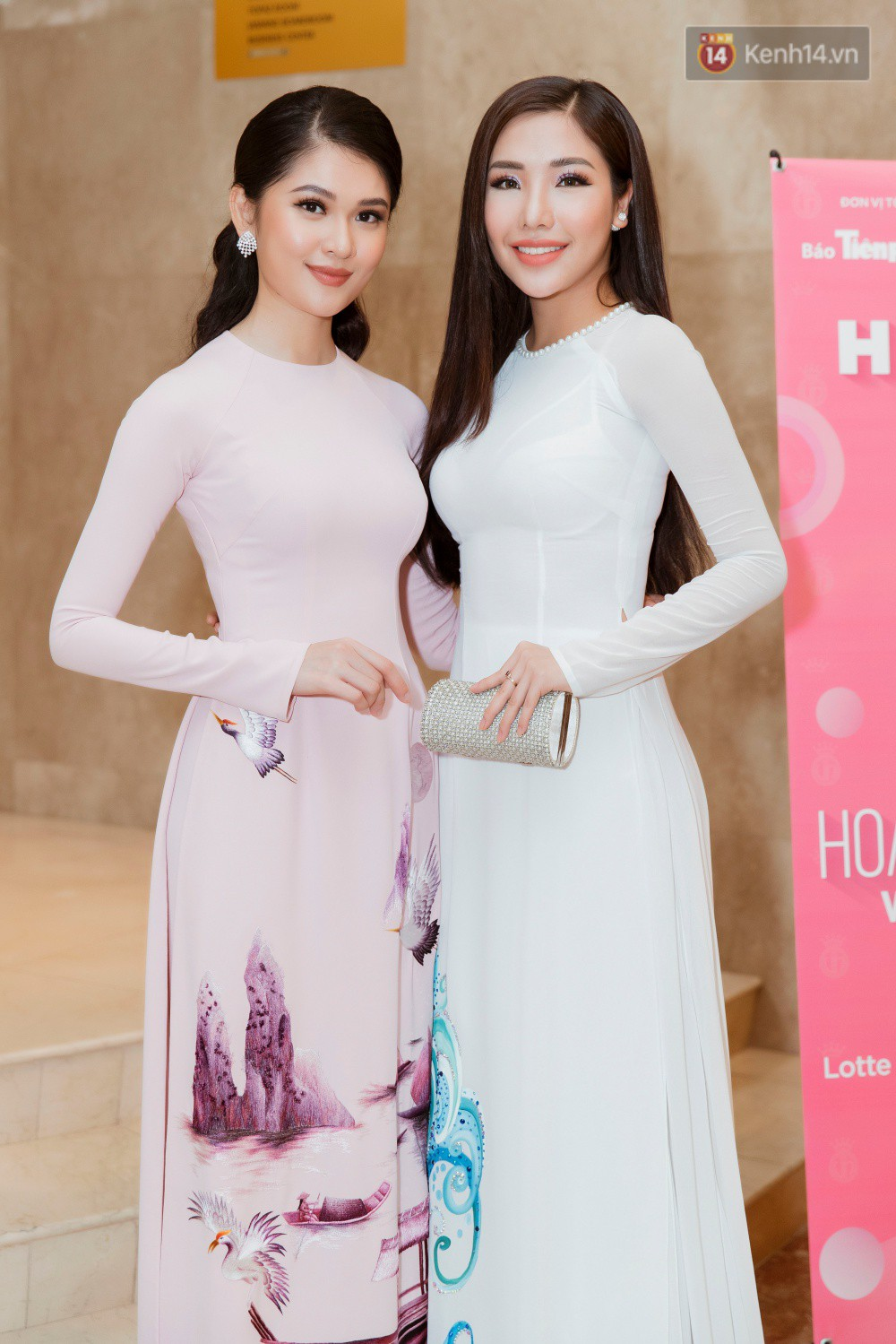 Khoảnh khắc hiếm hoi: 6 Hoa hậu, Á hậu hai mùa Hoa hậu liên tiếp diện áo dài đọ sắc - Ảnh 7.