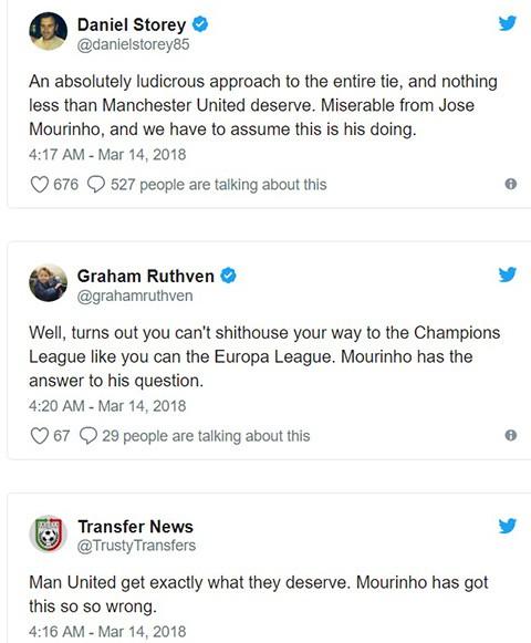 Mourinho bị chỉ trích nặng nề bởi chiến thuật và đội hình xuất phát ở trận thua Sevilla - Ảnh 4.
