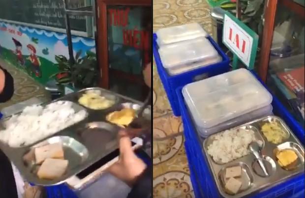 Phụ huynh ngỡ ngàng khi suất ăn trị giá 13.000 đồng của học sinh lớp 1 chỉ có 2 miếng chả và 1 miếng trứng - Ảnh 4.