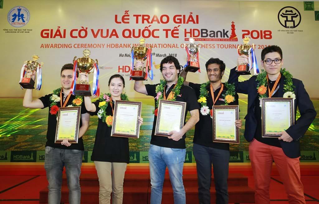 Kỳ thủ trẻ Việt Nam vuột ngôi vô địch giải cờ vua Quốc tế HDBank 2018 - Ảnh 4.