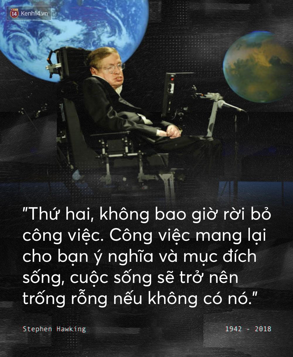 Những câu nói để đời của Stephen Hawking: Từ suy nghĩ giản đơn về cuộc đời cho tới triết lý mang tầm vũ trụ - Ảnh 2.