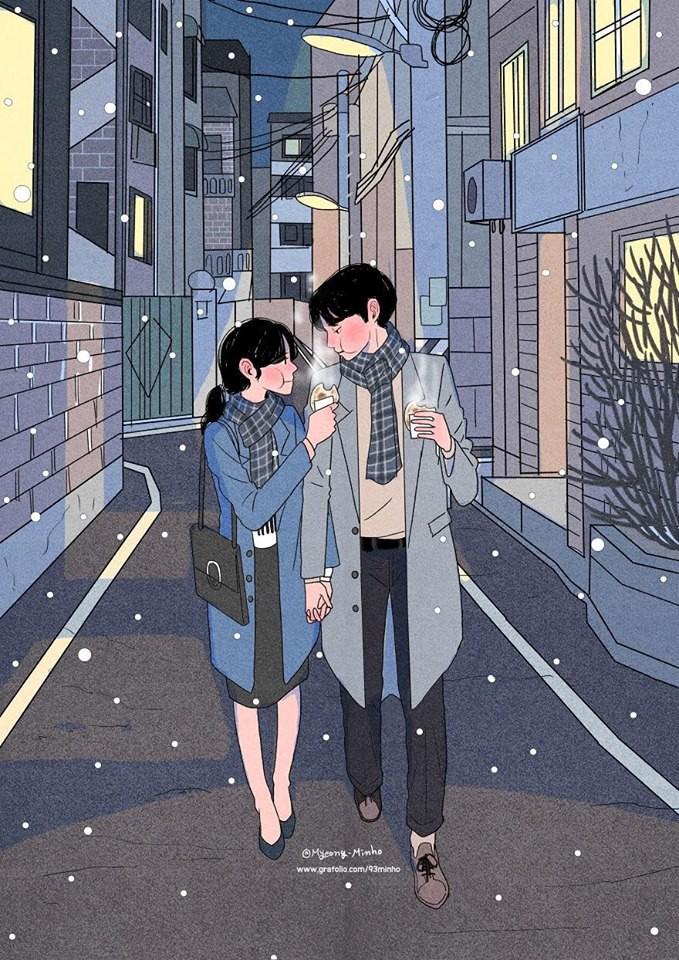 Bộ tranh Hàn Quốc khiến ai cũng muốn có một người để yêu nhau, yêu