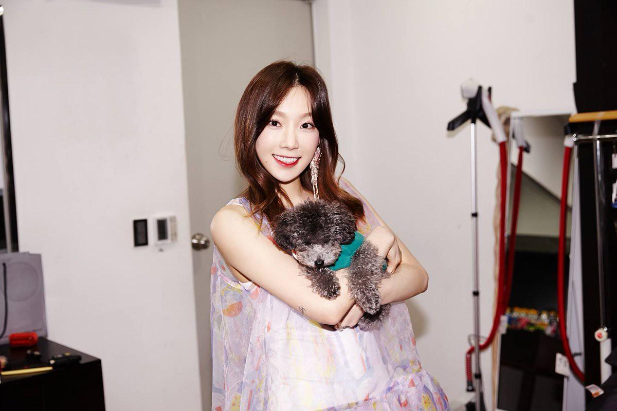 Mặc đẹp suốt ngày, sao Taeyeon lại chọn đúng váy như quả cầu lông để mặc trong sinh nhật thế này - Ảnh 6.