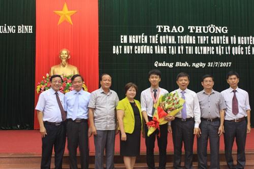 9x Quảng Bình từng giành 2 HCV Olympic Quốc tế trúng tuyển vào ĐH số một thế giới - Ảnh 7.