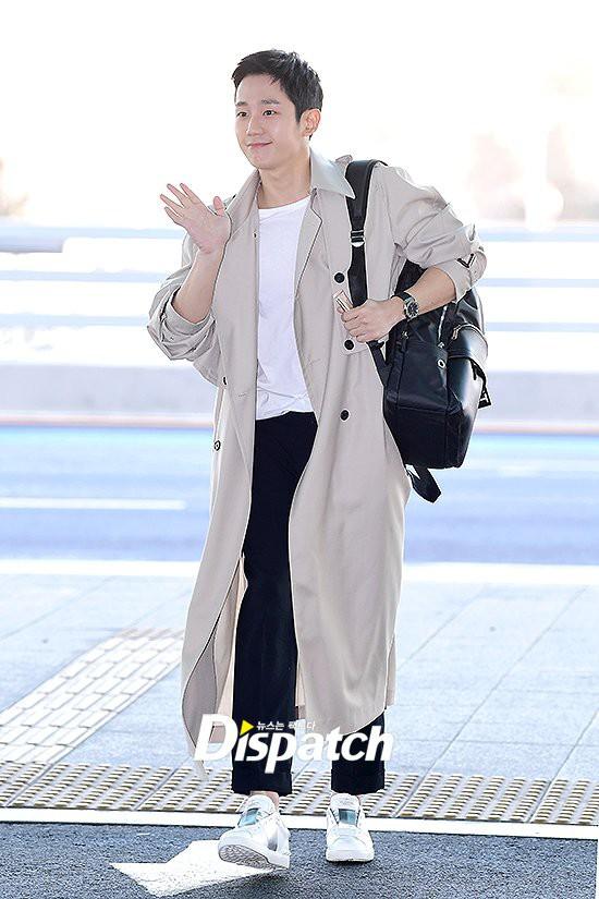 Thời trang sân bay của dàn mỹ nam Hàn nửa đầu tháng 3 toàn đồ đơn giản nhưng hút mắt vô cùng - Ảnh 7.