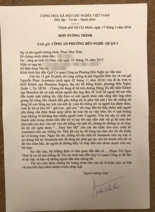 Con gái suýt bị bắt cóc, Phan Như Thảo lập tức tố cựu người mẫu Ngọc Thúy là chủ mưu - Ảnh 3.