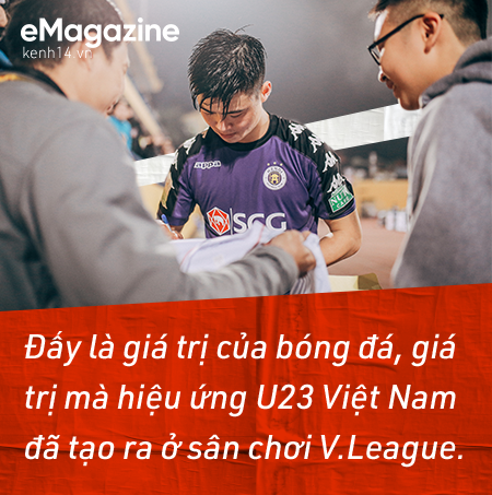 Thắp lại tình yêu bóng đá, kéo khán giả quay lại sân cổ vũ V.League, đây chính là sức mạnh từ hiệu ứng U23 Việt Nam! - Ảnh 11.