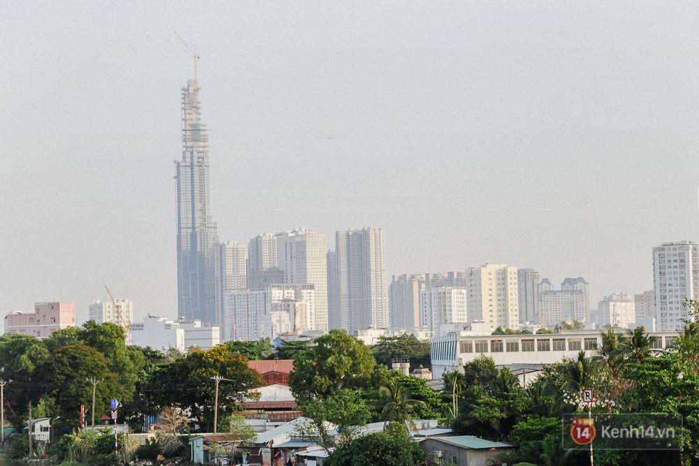 Clip, ảnh: Toàn cảnh tòa tháp 81 tầng cao nhất Việt Nam của tỷ phú Phạm Nhật Vượng nhìn từ trên cao - Ảnh 9.