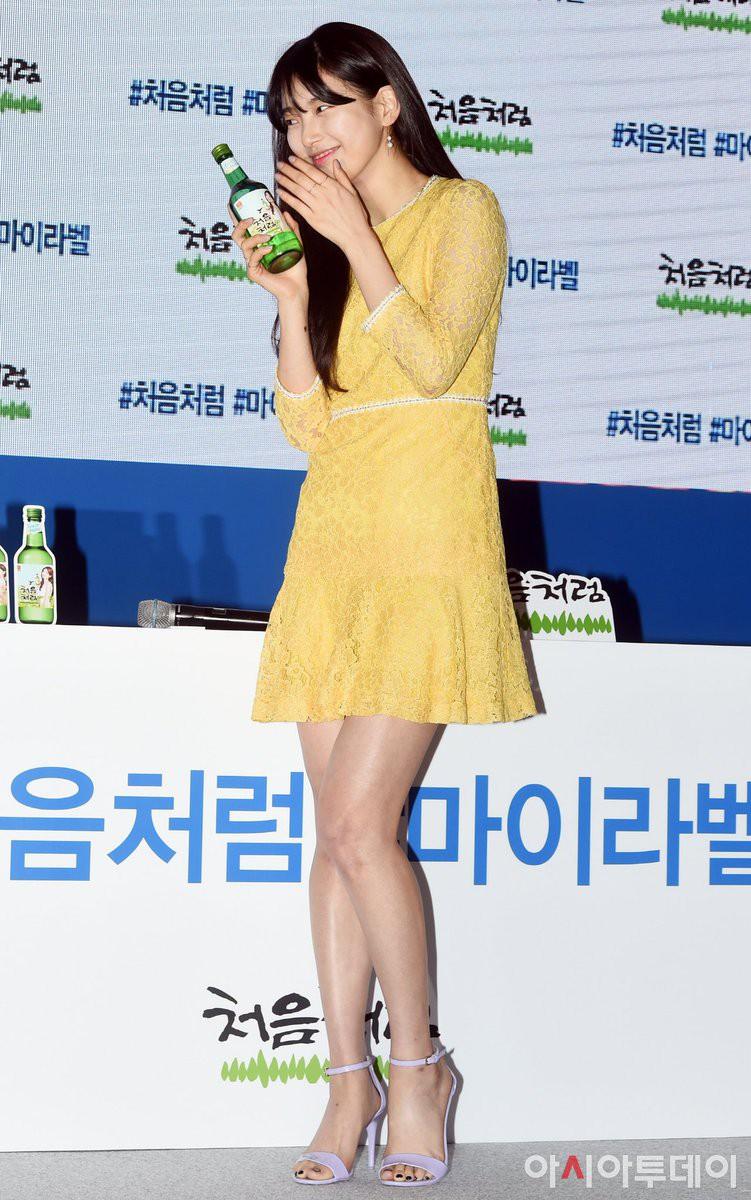 Suzy lần đầu lộ diện hậu hẹn hò Lee Dong Wook: Mặt béo nhưng vẫn khiến cả trung tâm thương mại náo loạn vì quân đoàn fan - Ảnh 11.