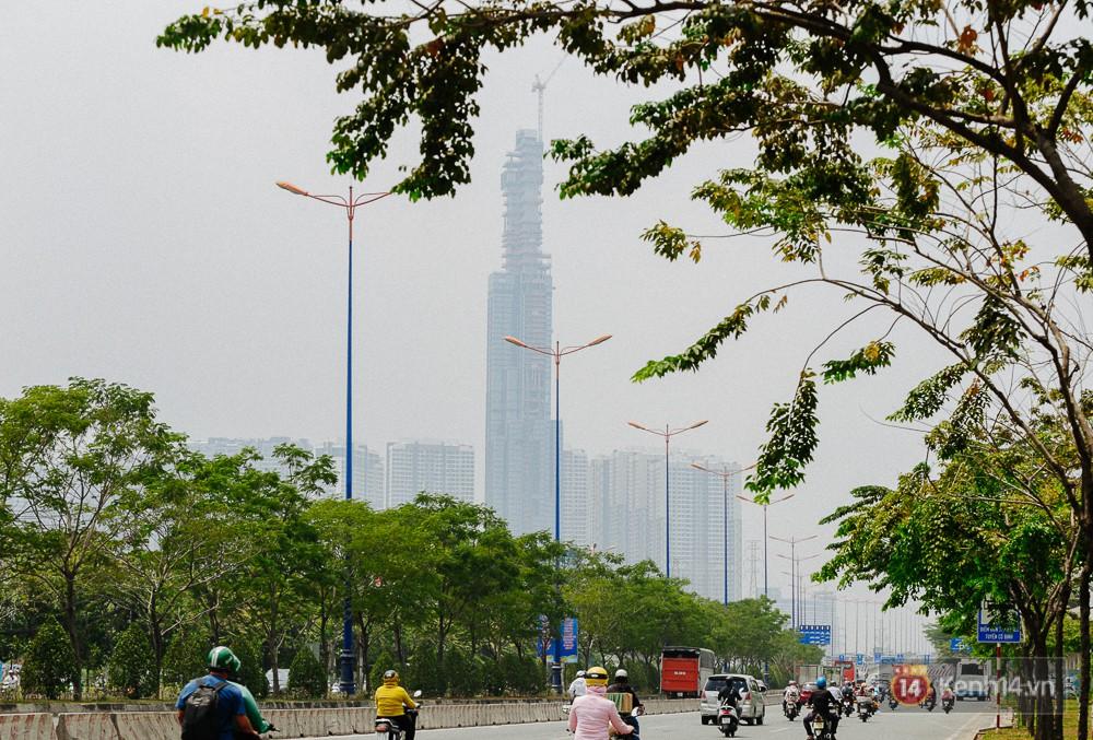 Clip, ảnh: Toàn cảnh tòa tháp 81 tầng cao nhất Việt Nam của tỷ phú Phạm Nhật Vượng nhìn từ trên cao - Ảnh 5.