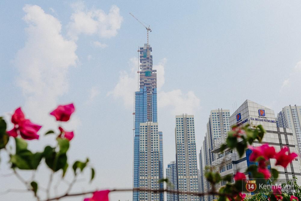 Clip, ảnh: Toàn cảnh tòa tháp 81 tầng cao nhất Việt Nam của tỷ phú Phạm Nhật Vượng nhìn từ trên cao - Ảnh 8.