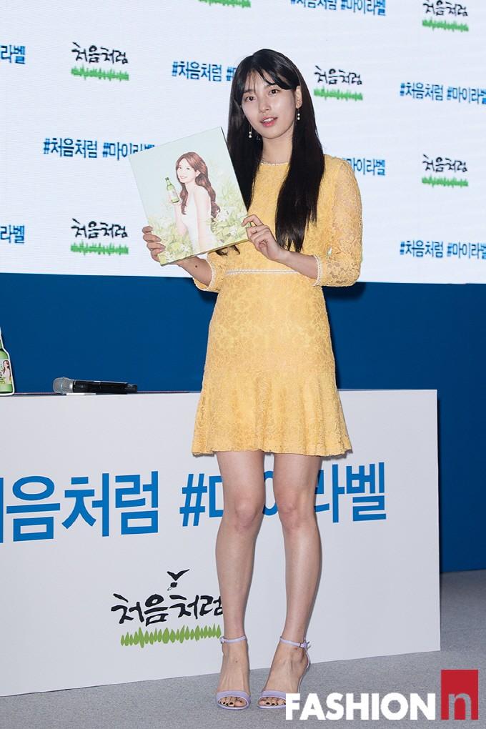 Suzy lần đầu lộ diện hậu hẹn hò Lee Dong Wook: Mặt béo nhưng vẫn khiến cả trung tâm thương mại náo loạn vì quân đoàn fan - Ảnh 9.