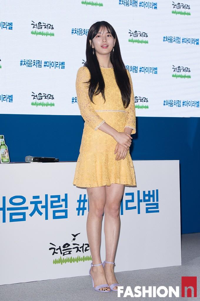 Suzy lần đầu lộ diện hậu hẹn hò Lee Dong Wook: Mặt béo nhưng vẫn khiến cả trung tâm thương mại náo loạn vì quân đoàn fan - Ảnh 7.