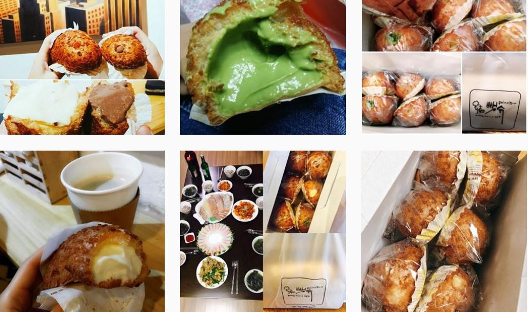 Loại bánh su kem chiếm sóng Instagram ở Hàn Quốc quả đúng là nhìn ngon không thể chịu được - Ảnh 1.