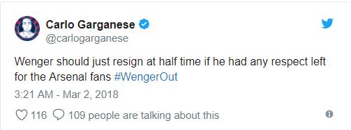 Fan Arsenal đòi Wenger từ chức ngay lập tức sau 2 trận thua muối mặt trước Man City - Ảnh 12.