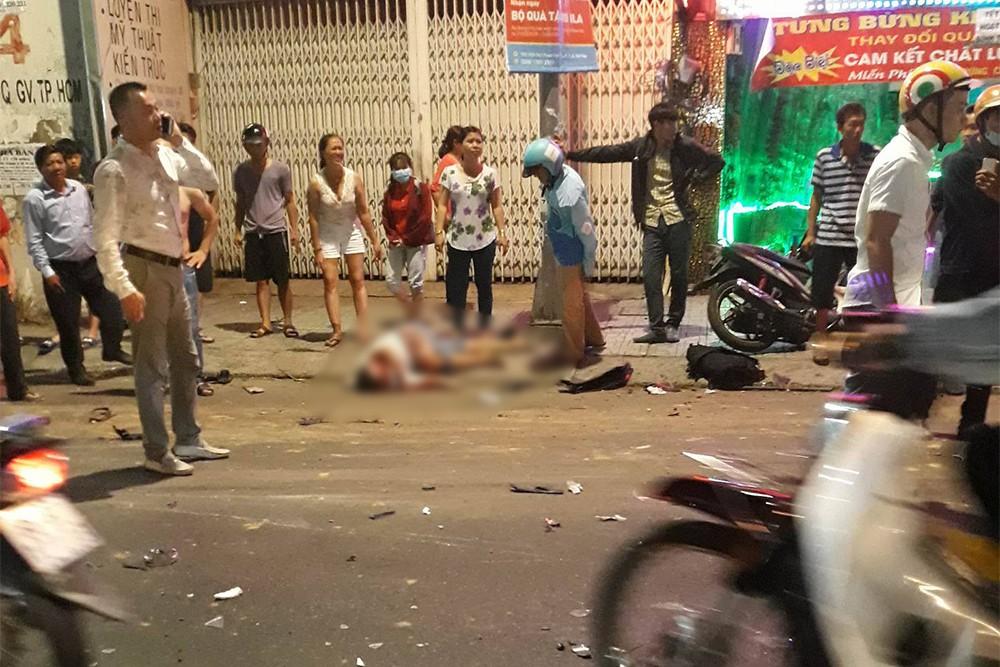 Vụ tai nạn khiến nhiều người thương vong.