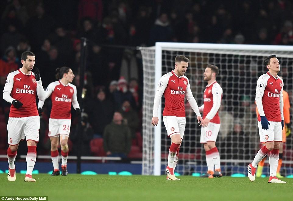 Arsenal thua thảm Man City 2 lần trong vòng 4 ngày - Ảnh 18.