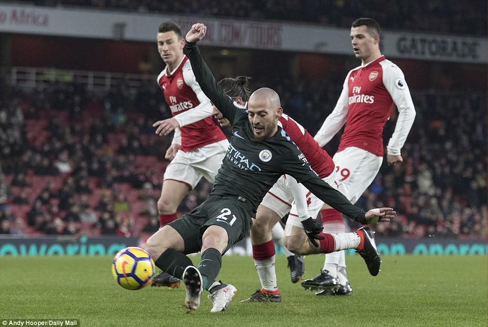 Arsenal thua thảm Man City 2 lần trong vòng 4 ngày - Ảnh 8.
