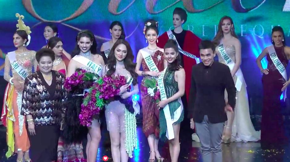Phần biểu diễn giúp Hương Giang mang về chiến thắng đầu tiên trong đêm bán kết Hoa hậu Chuyển giới - Ảnh 3.