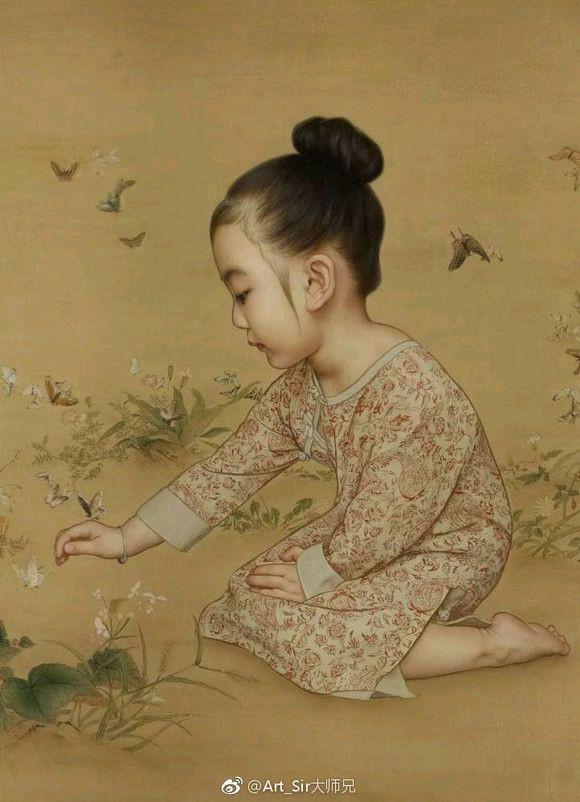 Ông bố biến con gái thành tiểu tiên nữ cổ trang trong tranh khiến nhiều người nể phục - Ảnh 11.