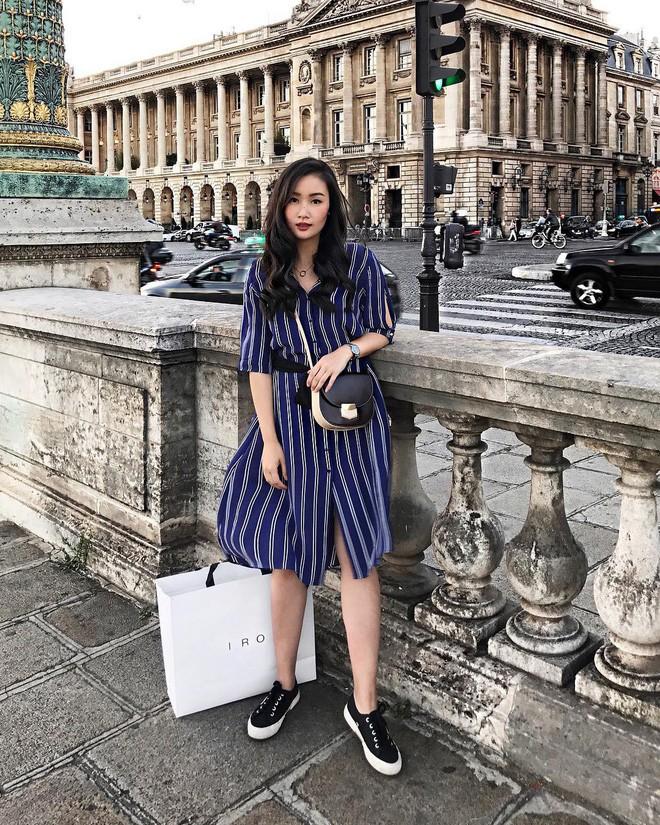 Diện quần âu và sơmi cách điệu đẹp như các quý cô châu Á trong street style đầu tháng 3 - Ảnh 17.