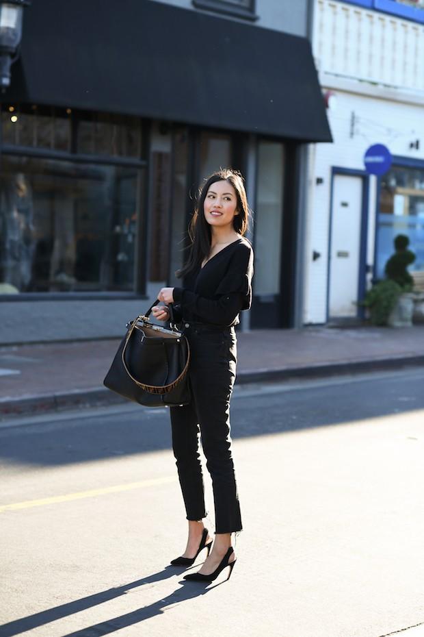 Diện quần âu và sơmi cách điệu đẹp như các quý cô châu Á trong street style đầu tháng 3 - Ảnh 5.
