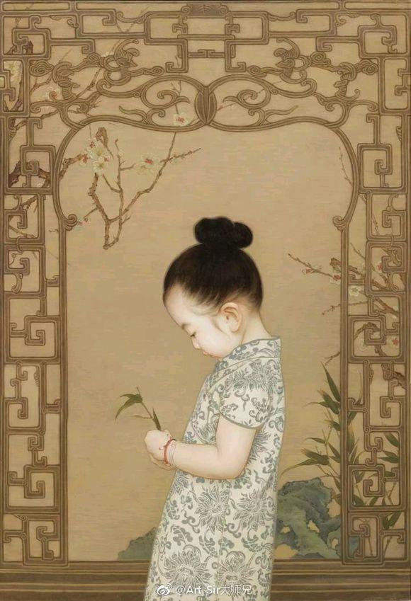 Ông bố biến con gái thành tiểu tiên nữ cổ trang trong tranh khiến nhiều người nể phục - Ảnh 6.