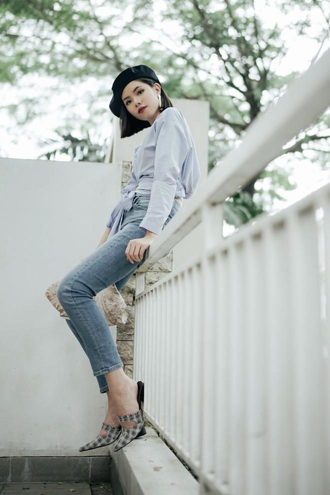 Diện quần âu và sơmi cách điệu đẹp như các quý cô châu Á trong street style đầu tháng 3 - Ảnh 6.