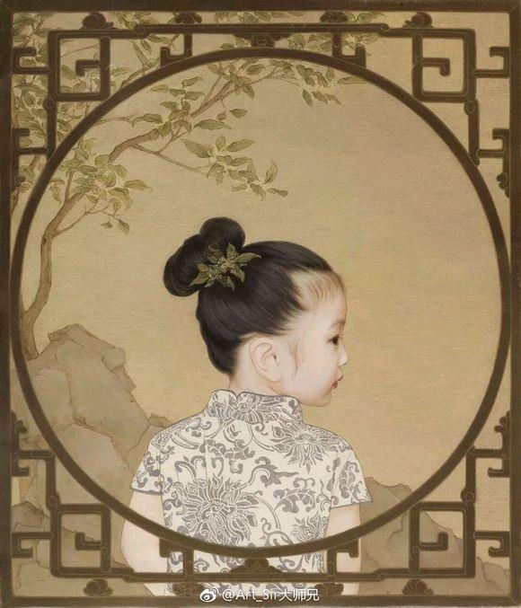 Ông bố biến con gái thành tiểu tiên nữ cổ trang trong tranh khiến nhiều người nể phục - Ảnh 7.