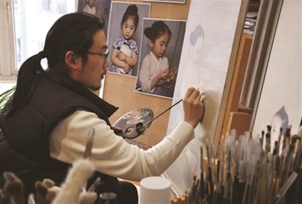 Ông bố biến con gái thành tiểu tiên nữ cổ trang trong tranh khiến nhiều người nể phục - Ảnh 8.