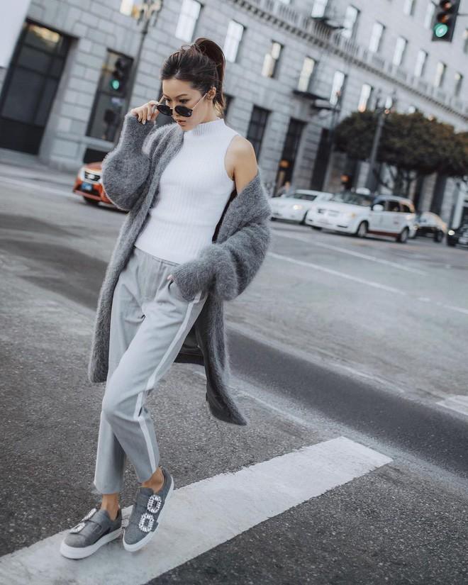 Diện quần âu và sơmi cách điệu đẹp như các quý cô châu Á trong street style đầu tháng 3 - Ảnh 8.