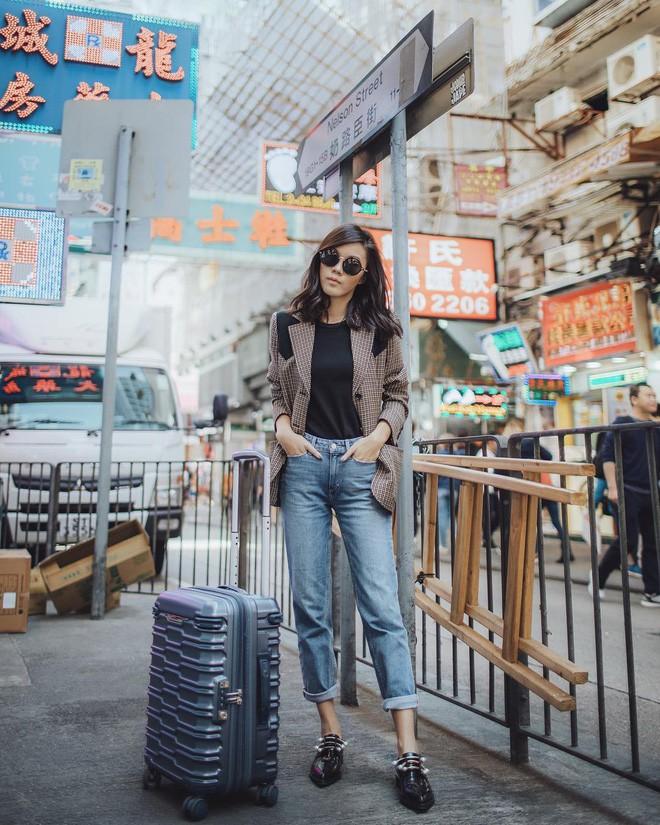 Diện quần âu và sơmi cách điệu đẹp như các quý cô châu Á trong street style đầu tháng 3 - Ảnh 9.