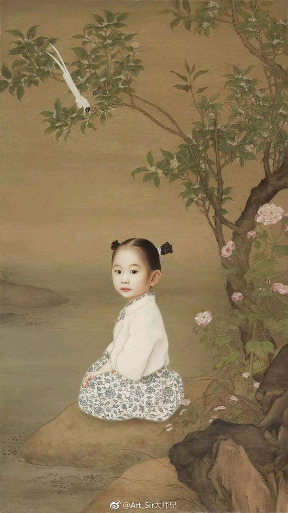 Ông bố biến con gái thành tiểu tiên nữ cổ trang trong tranh khiến nhiều người nể phục - Ảnh 10.
