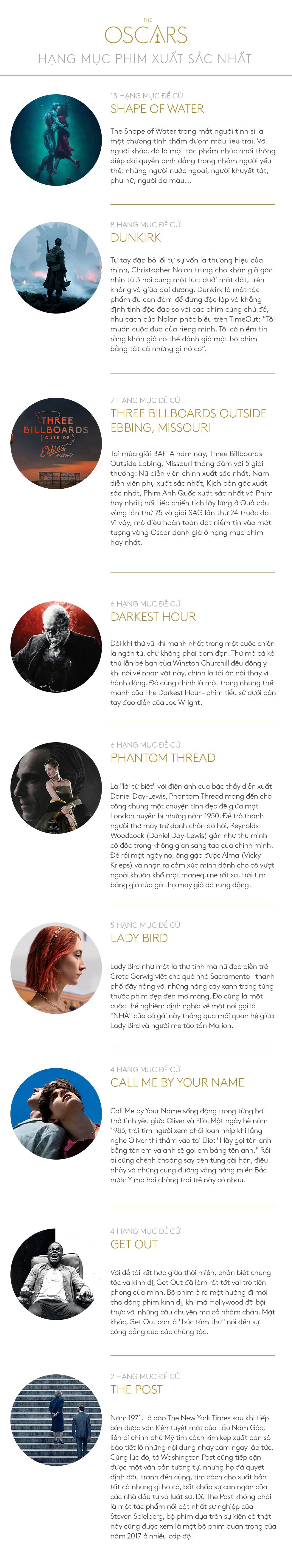 Oscar 2018: Thấy thanh xuân vụt qua những thước phim - Ảnh 15.