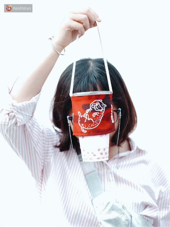 Dùng quai vải thay túi nylon đựng nước: đây là cách bảo vệ môi trường rất đáng yêu của giới trẻ Sài Gòn - Ảnh 15.