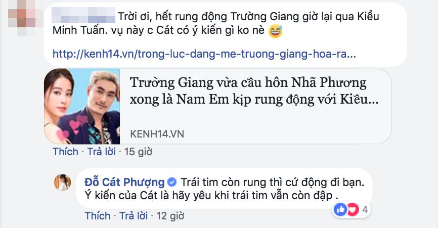 Phản ứng của Cát Phượng khi biết Nam Em từng rung động với Kiều Minh Tuấn? - Ảnh 2.