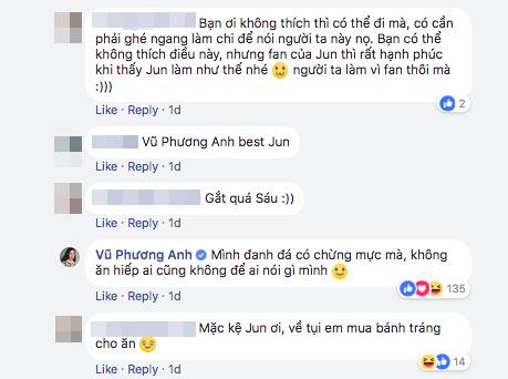 Đáp trả antifan cực gắt bảo sao vai Tuyết Anh trong Tháng Năm Rực Rỡ đúng sinh ra dành cho Jun Vũ - Ảnh 3.