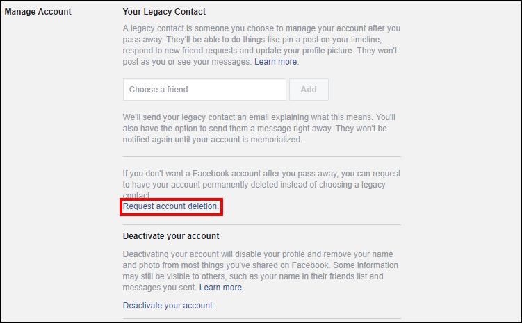 Hướng dẫn cách xóa tài khoản Facebook vĩnh viễn, đến Mark Zuckerberg cũng không thể mở lại cho bạn luôn - Ảnh 3.
