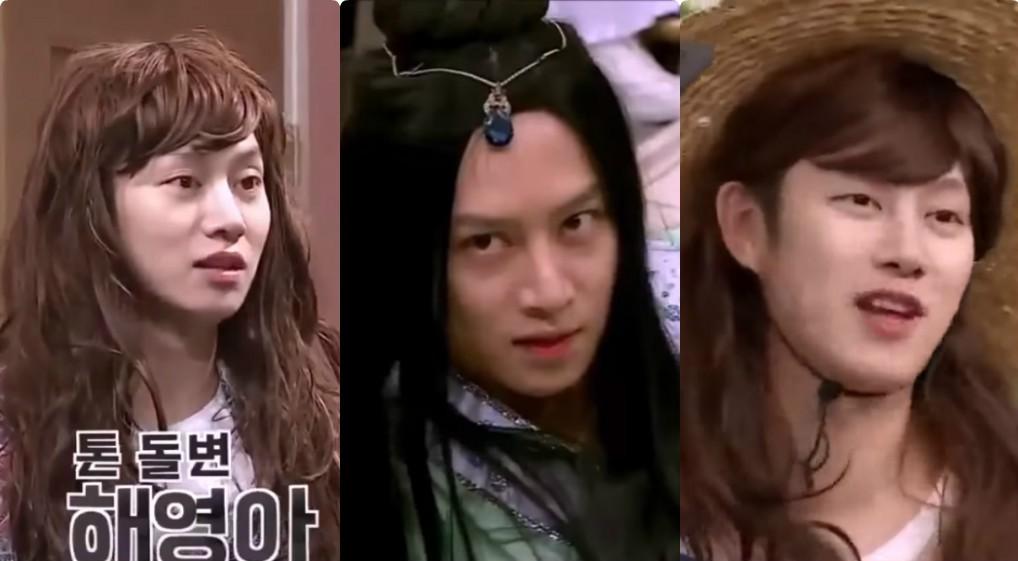 Choáng ngợp những màn giả gái thần sầu của siêu sao vũ trụ Kim Heechul trên các show truyền hình - Ảnh 3.