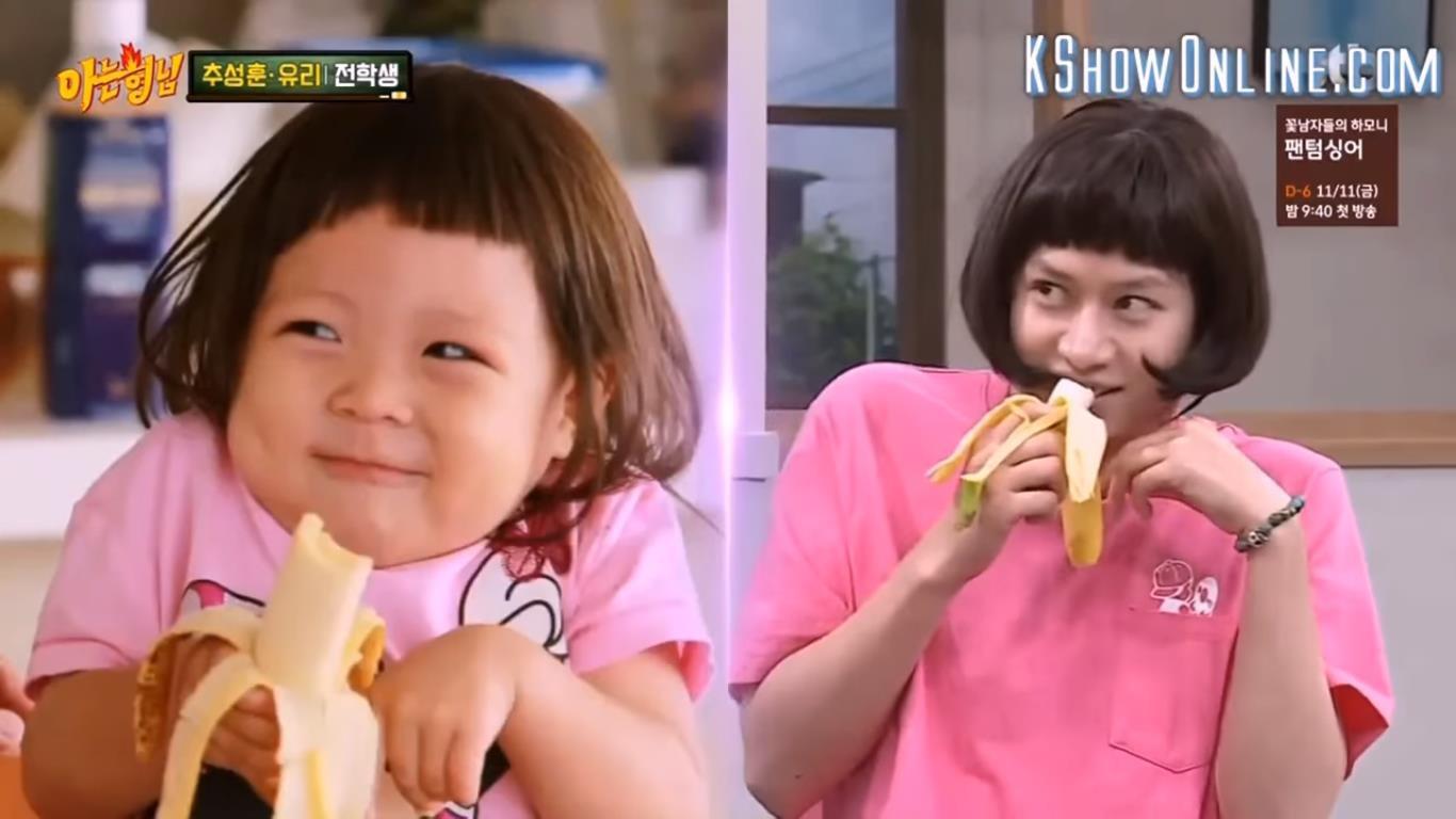 Choáng ngợp những màn giả gái thần sầu của siêu sao vũ trụ Kim Heechul trên các show truyền hình - Ảnh 6.