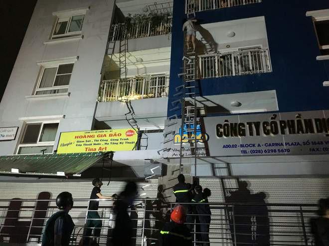 TP.HCM: Cháy lớn ở chung cư cao cấp Carina Plaza, ít nhất 13 người chết, 14 người bị thương - Ảnh 2.